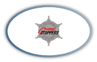 Graphic Button for Crime Stoppers