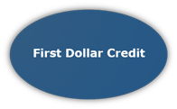 Graphic Button For First Dollar Credit