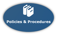 Graphic Button for Human Resources Policies and Procedures