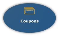 Grapic Button of Coupons Link