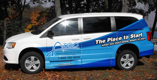 ADRC Transporation Van