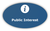 Graphic Button of Public Interest