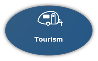 Graphic Button for Tourism