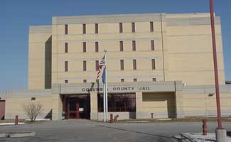 Graphic of the Columbia County Jail