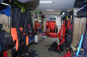 Columbia County Dive Team Equipment and equipment