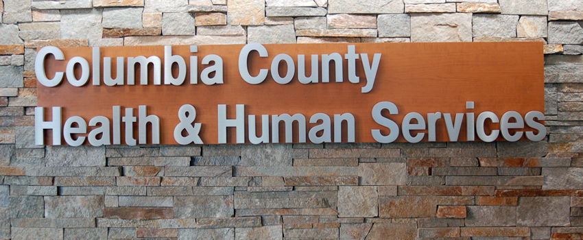 Graphic of Health and Human Services Sign