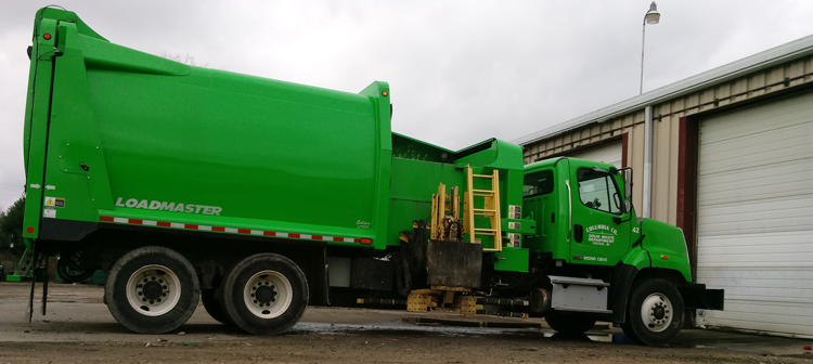 Graphic of Solid Waste Loadmaster Truck